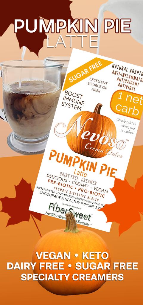 Pumpkin Pie Latte Sugar-Free Dairy-Free VAGAN KETO