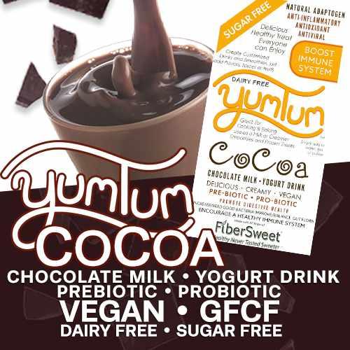 YUMTUM CoCoa Chocolate DairyFree Milk
