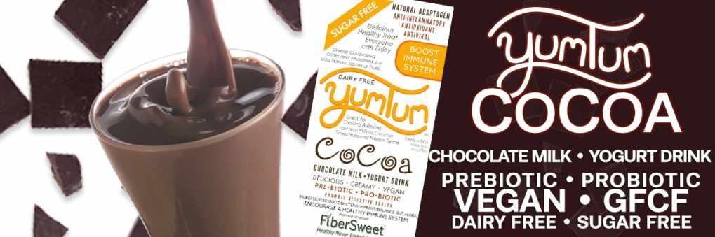 TumTum Cocoa DairyFree Chocolate Milk