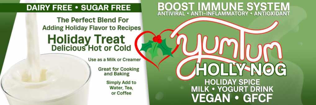 YumTum HollyNog DairyFree Milk